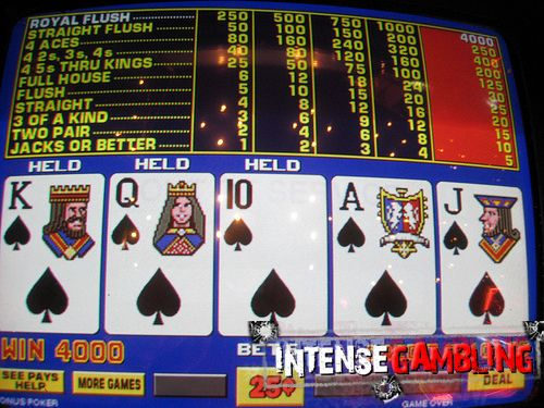 what is full pay video poker