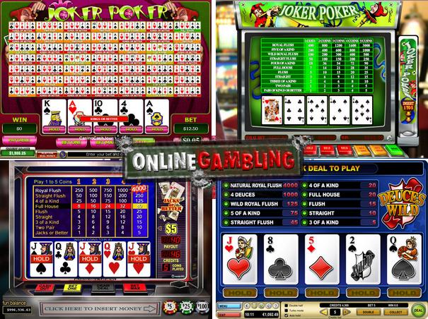 online video poker games