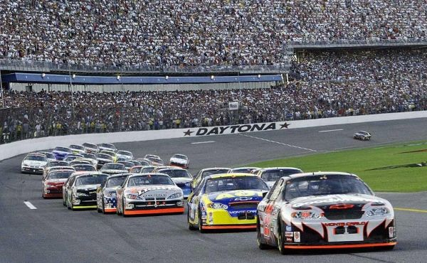 Massive crowd at NASCAR race