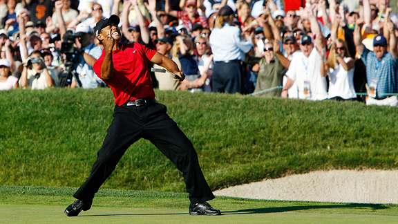 Betting on Tiger Woods