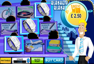 Blankety Blank Scratchcard