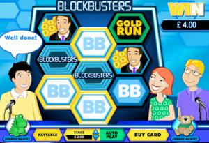Blockbusters Scratchcard
