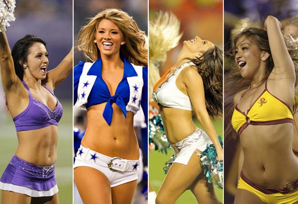 NFL Cheerleaders Are No Harm To Ratings