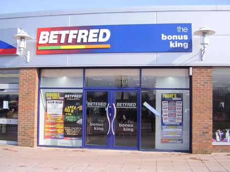 Betfred Shop in the Brichwood in the UK
