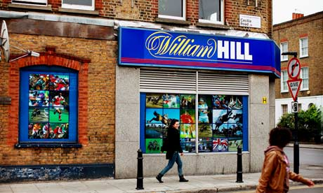 William Hill Shop in the UK