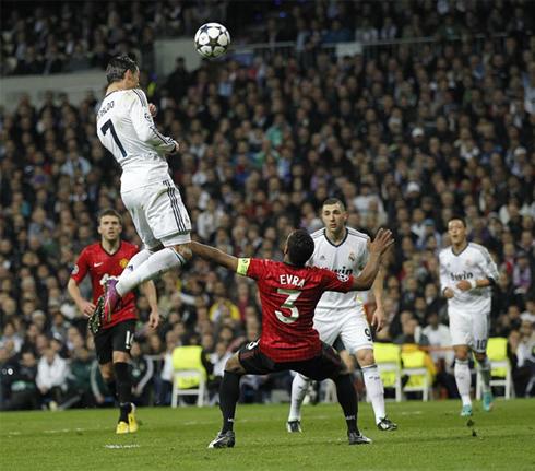 Ronaldo Goal vs Man Utd