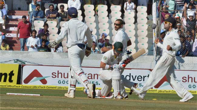 Australia Test match versus India in Mohali