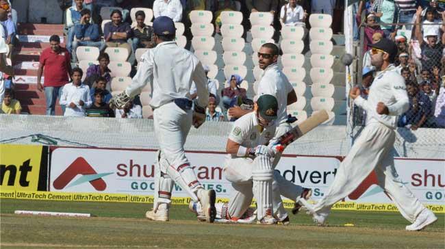 Australia Test match versus India in Mohali