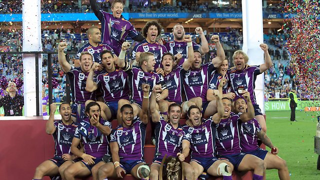 Melbourne Storm NRL 2012 Winners