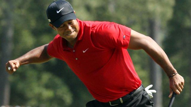 Tiger Woods FistPumping