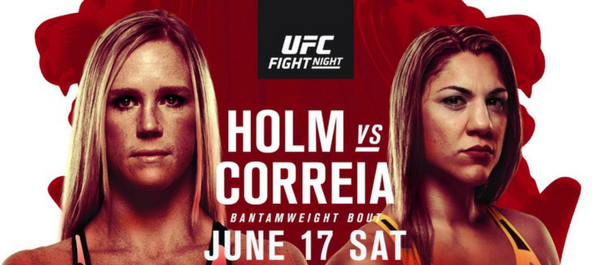 Holly Holm vs. Bethe Correia