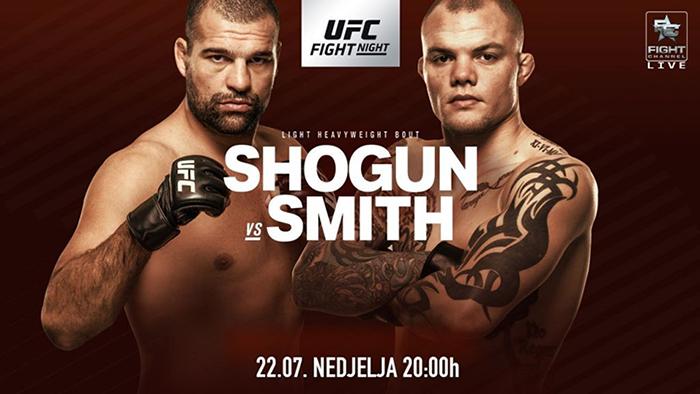 UFC Fight Night 134: Mauricio Rua vs. Anthony Smith