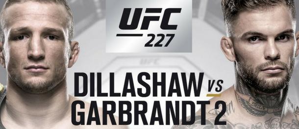 UFC 227: T.J. Dillashaw vs. Cody Garbrandt