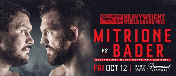 Bellator 207 Matt Mitrione vs. Ryan Bader