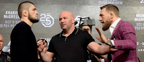 UFC 229: Khabib Nurmagomedov vs. Conor McGregor