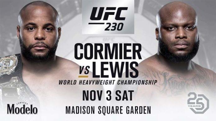 UFC 230: Daniel Cormier vs. Derrick Lewis