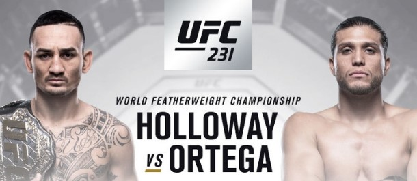 UFC 231 Holloway vs. Ortega
