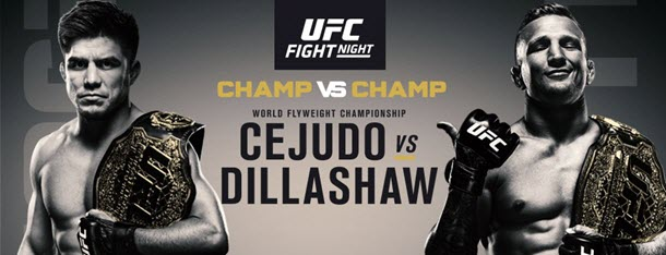 UFC Fight Night 143: Henry Cejudo vs. TJ Dillashaw